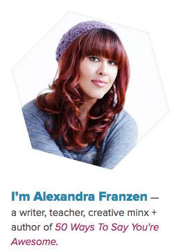 Example of Good Branding: Alexandra Franzen