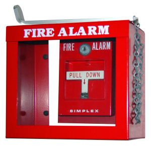Image of a fire alarm