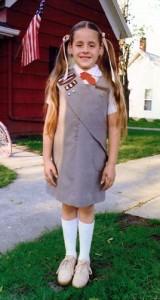 Me as a brownie