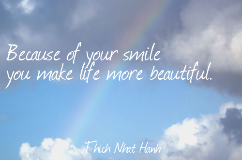 Beautiful quotes on smiles about