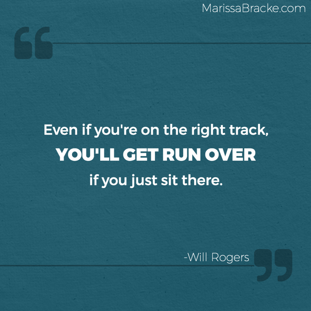 Right Track Run Over - Will Rogers