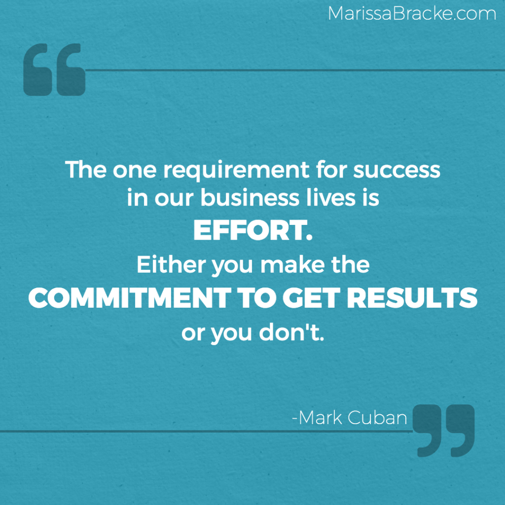 Make Commitment or Don't - Mark Cuban
