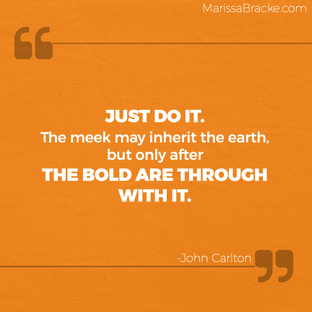 Just Do It - John Carlton