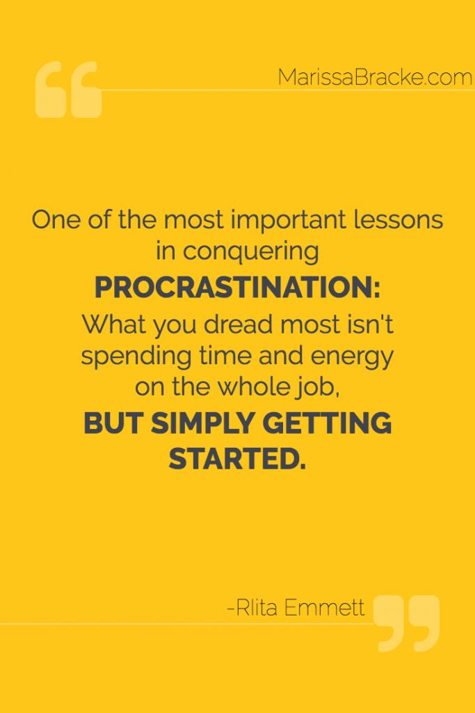 Simply Getting Started - Rita Emmett