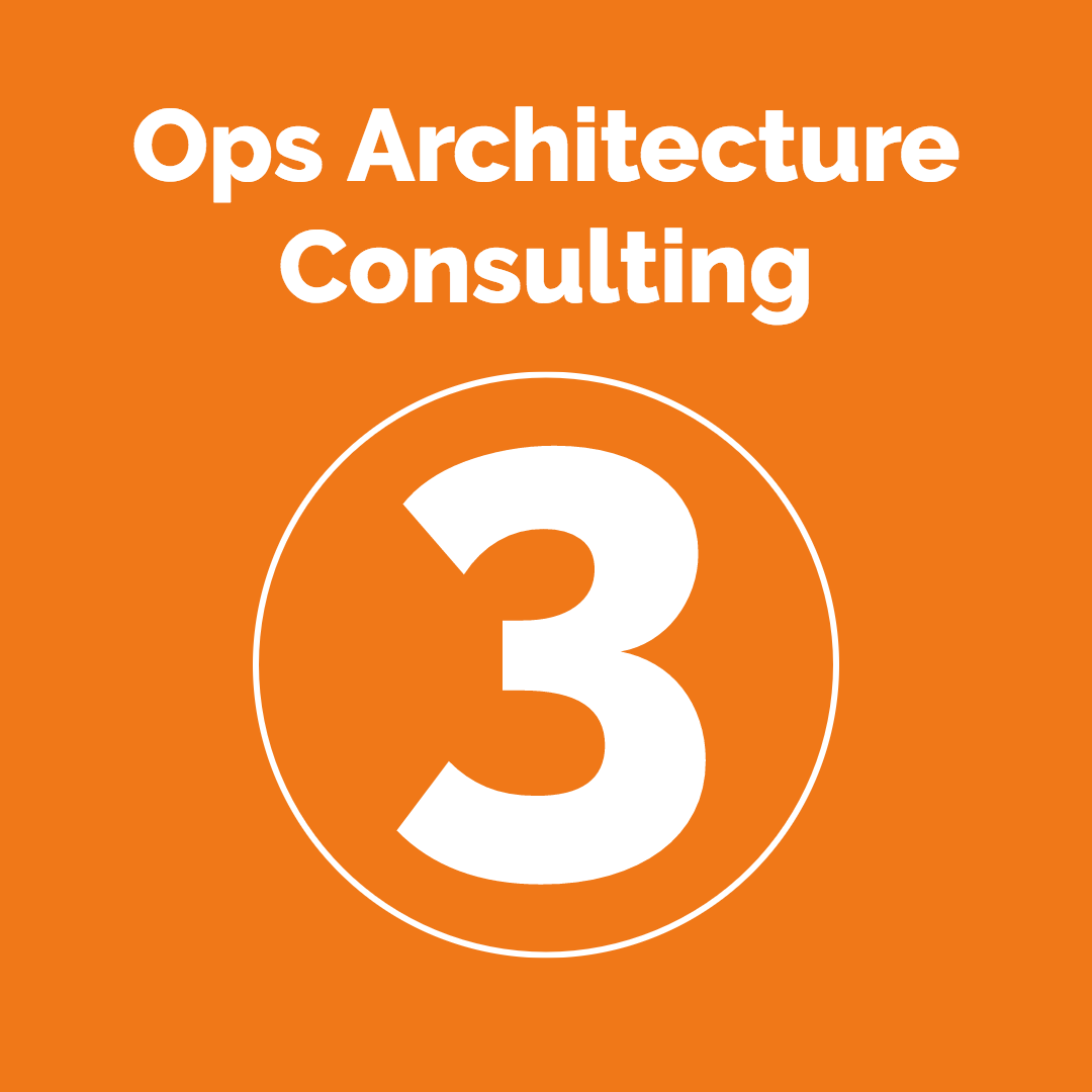 Step 3: Ops Architecture Consulting