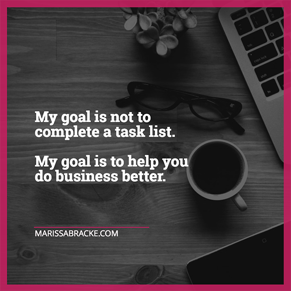My goal is to help you do business better